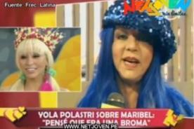 Yola critica a Maribel Velarde por incursionar como animadora infantil