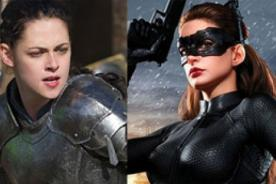 Peoples Choice Awards: Kristen Stewart vs Anne Hathaway para Figura Heroica