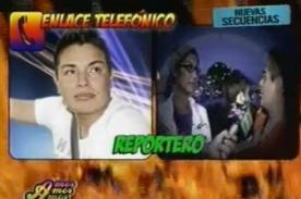 Leonard León rogó a reportero para que 'ampay' no se difunda