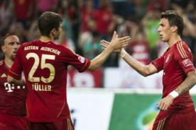 Goles del Arsenal vs Bayern Munich (1-3) - UEFA Champions League - Video