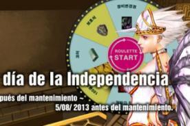 Rakion evento día de la Independencia: Gana cash gratis