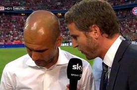 Video: Josep Guardiola se incomodó por preguntas acerca de Tito Vilanova