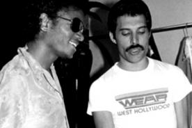 Michael Jackson y Freddie Mercury grabaron tres canciones en dueto