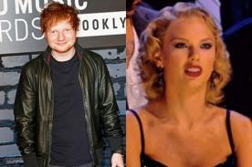Ed Sheeran explica qué es lo que realmente dijo Taylor Swift en los VMA