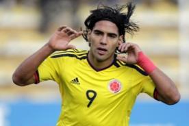 Radamel Falcao está lesionado pero aún no lo descartan en su selección