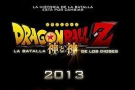 Dragon Ball Z: La batalla de los dioses - Fecha de preventa de entradas en Perú confirmada