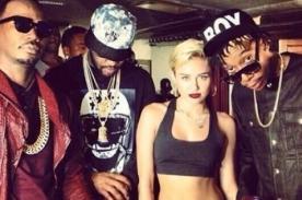 Miley Cyrus rapeando para '23' con Wiz Khalifa - Audio