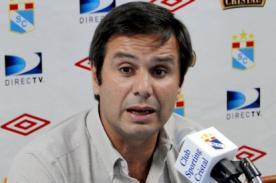 Felipe Cantuarias: Sporting Cristal ha confundido intensidad con precisión