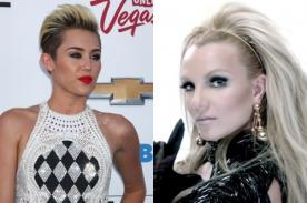 Se filtra 'SMS' de Miley Cyrus con Britney Spears - Audio
