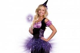 ¿Delgada? Una opción es disfrazarte de bruja adolescente - Halloween