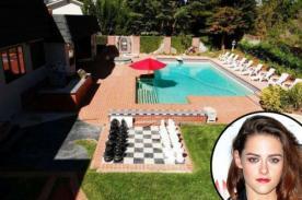 Kristen Stewart vende mansión como 'El país de las Maravillas'