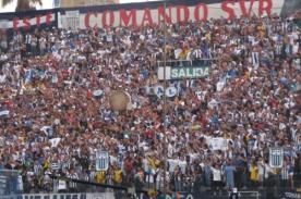 Hinchas de Alianza Lima celebran los 27 años del 'Comando Svr' en Twitter