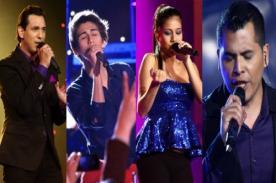 La Voz Perú ya tiene a sus cuatro finalistas ¿Cuál es tu favorito?