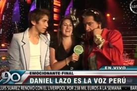 La Voz Perú: 'El Puma' pide a Gian Marco ser productor de Daniel Lazo
