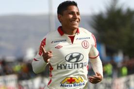 Dirigente de Universitario confirma que Raúl Ruidíaz seguirá en el club