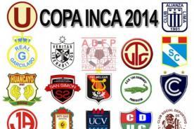 Copa Inca 2014: Programación de la primera fecha