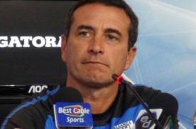 Guillermo Sanguinetti sobre empate ante Sporting Cristal: Me voy conforme