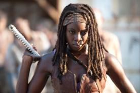 The Walking Dead: Ahora Michonne es algo más que una asesina de zombis