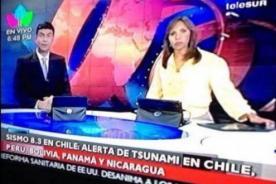 Insólito: ¿Noticiero advierte por error alerta de tsunami en Bolivia?