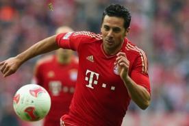 La PizaCam: Claudio Pizarro se graba en la celebración del Bayern Munich