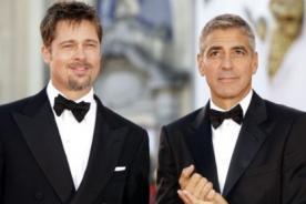 George Clooney no quiere a Brad Pitt en su boda