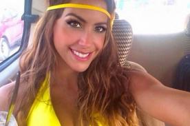 EEG: Milett Figueroa se tapa la nariz para saltar a la colchoneta [Video]