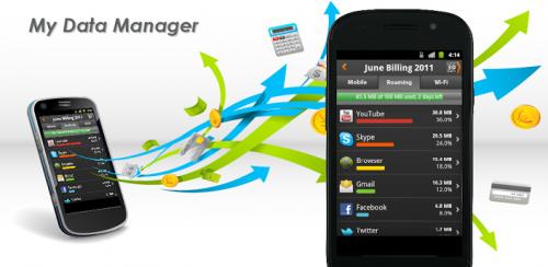 My Data Manager, la nueva app que hará durar más tus datos móviles