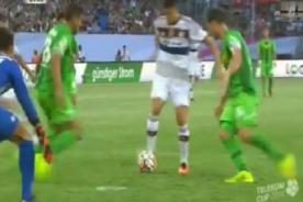 Lewandowski marca tremendo golazo en amistoso [VIDEO]