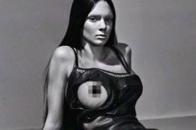 ¡Kendall Jenner, hermana de Kim Kardashian también alborota la web con fotos hot!