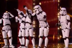 Stormtroopers sorprenden en Britain's got Talent