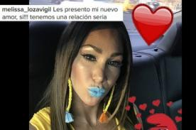 ¿Quién será?: Melissa Loza confirma así que ya tiene una relación y es seria - FOTO