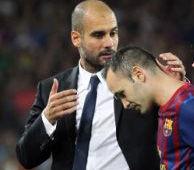Barcelona: Andrés Iniesta se lesionó en el partido contra el AC Milan