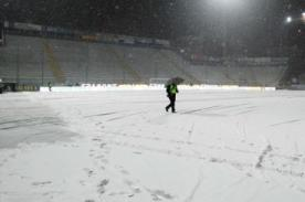 Fútbol italiano: Ola de frío suspende partidos del Calcio