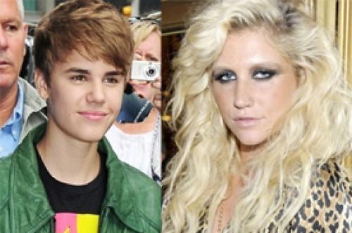 KeSha colaboró con Justin Bieber para el álbum 'Believe'