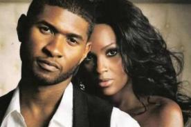 Ex esposa de Usher niega haber amenazado de muerte al cantante