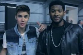 Usher: Justin Bieber se burla de mí y me hace sentir viejo - Video