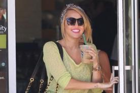 Fotos: Miley Cyrus estrena nuevo look con gran sonrisa