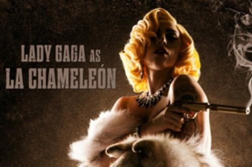 Lady Gaga posa como La Chameleón en el póster oficial de Machete Kills