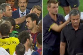 Mourinho y Vilanova se verán las caras este jueves tras polémico incidente