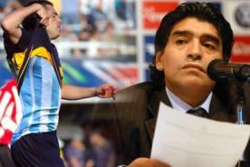 Riquelme a Maradona: No me interesa lo que diga ese muchacho