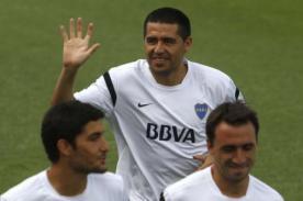 Fútbol argentino: Juan Román Riquelme entrenó con Boca Juniors - Video