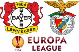 Bayer Leverkusen vs Benfica en vivo (0-1) por Fox Sports - UEFA Europa League