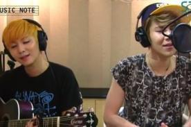 LEDApple: Hanbyul y Youngjun emocionan con cover de Bruno Mars - Video