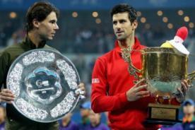 Tenis: Novak Djokovic venció a Rafael Nadal y es campeón en Pekín