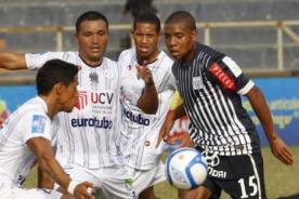 A qué hora juega César Vallejo vs Alianza Lima - Descentralizado 2013
