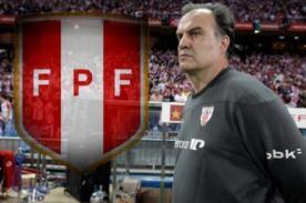 Selección peruana: Habría un primer acercamiento con Marcelo Bielsa