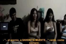 Video: Nicole Pillman se burla de Sandra Muente y homenaje a su padre