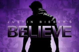 Justin Bieber presenta el póster de su película 'Believe 3D'