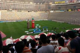 Universitario: Hinchas esperan al campeón en el Estadio Monumental