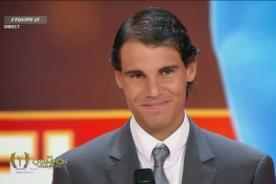 Rafael Nadal fue elegido el mejor deportista del año 2013